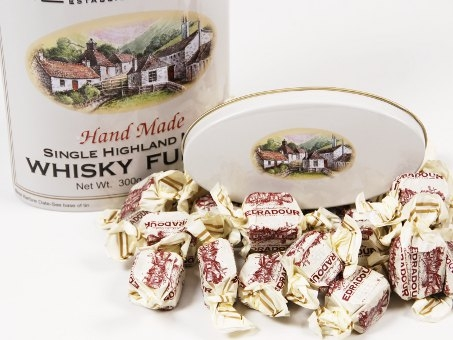 Whisky Fudge Edradour Tin 300g