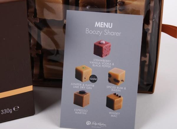 Fudge Kitchen, Geschenkpackung, Boozy Sharer, 330g