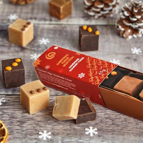 Fudge Kitchen Trio Slider 3in1, Christmas, 65g