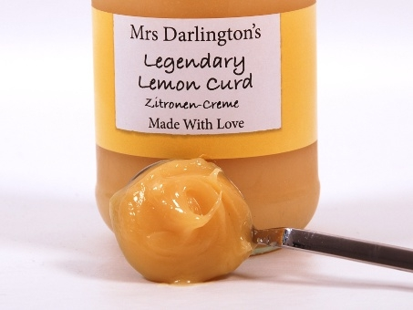 Mrs. Darlington's Legendary Lemon Curd
