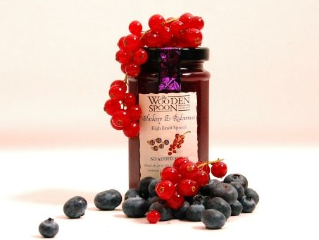 The Wooden Spoon Blueberry & Redcurrant 260g ohne Zuckerzusatz