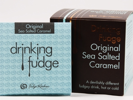Fudge Kitchen, Drinking Fudge, Sea Salted Caramel, 6x35g