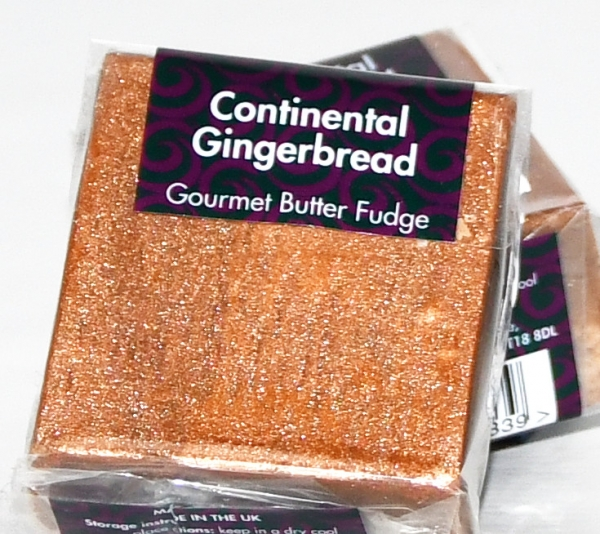 Fudge Kitchen, Sharing Square, Continental Gingerbread, 85g