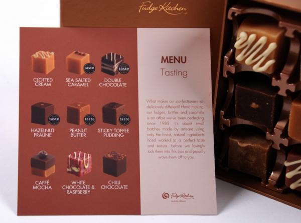 Fudge Kitchen, Geschenkpackung, Tasting Collection, 195g