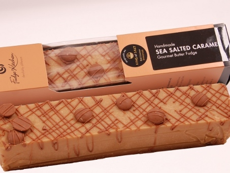 Gourmet Fudge Sea Salted Caramel Barren 750g