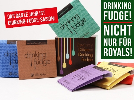 Fudge Kitchen, Drinking Fudge, Classic Selection, 6x35g
