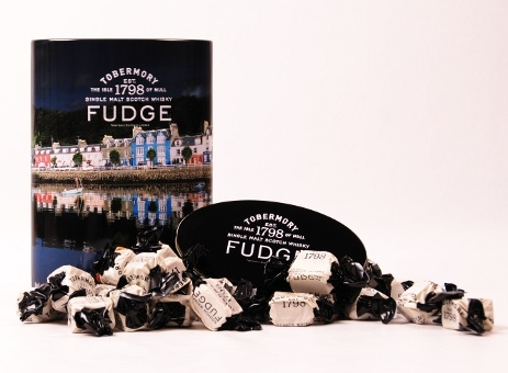Whisky Fudge Tobermory Tin 300g