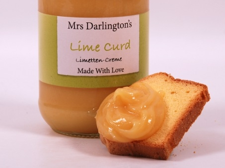 Mrs. Darlington's Lime Curd 320g 	Mrs. Darlington's Lime Curd