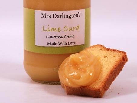 Mrs. Darlington's Lime Curd 320g Mrs. Darlington's Lime Curd