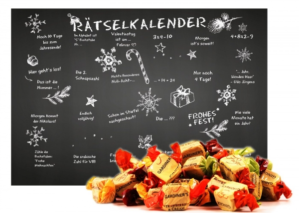 Adventskalender Assorted Fudge