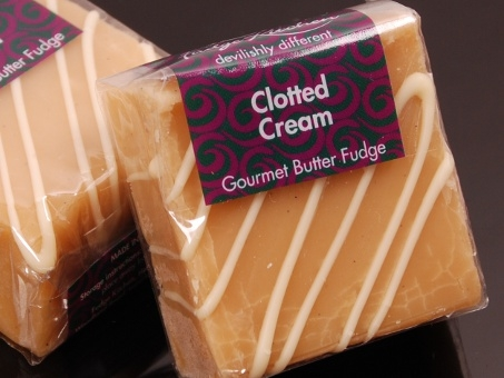 Fudge Kitchen, Sharing Square, Clotted Cream, 85g