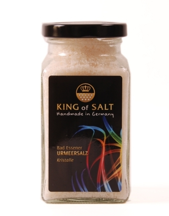 King of Salt Urmeersalz Kristalle 200g im Glas