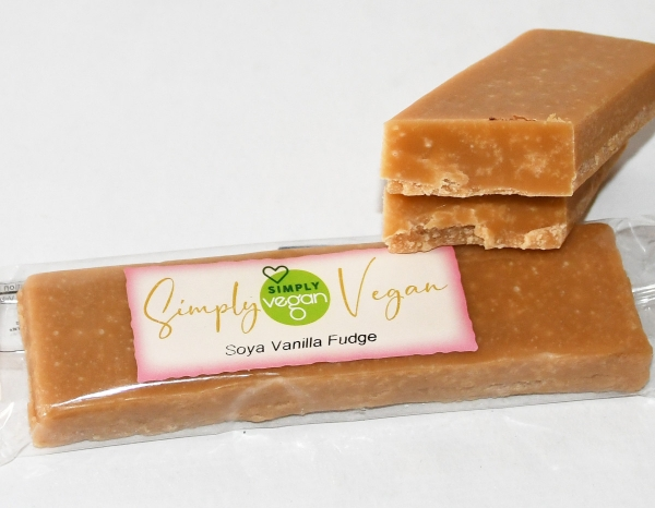 Soya Vanilla Fudge-Riegel