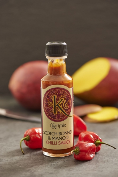 Karimix Chilli Sauce Scotch Bonnet & Mango 100ml