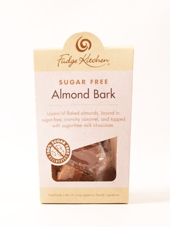 Fudge Kitchen (Sugar Free) Almond Bark 125g
