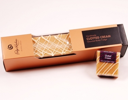Gourmet Fudge Clotted Cream Barren 800g