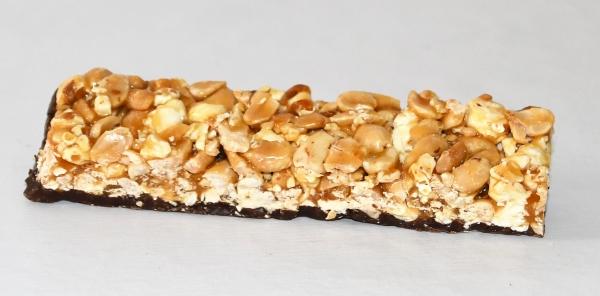 Plain Chocolate Dipped Peanut & Popcorn Bar