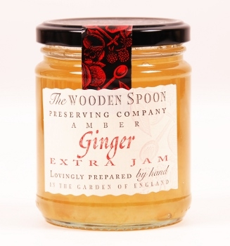 The Wooden Spoon Amber - Ginger Extra Jam 340g