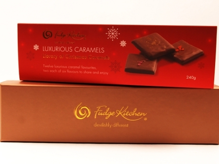 Luxury Caramels Christmas Selection 240g