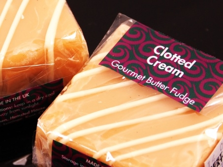 Gourmet Fudge Square Clotted Cream 85g