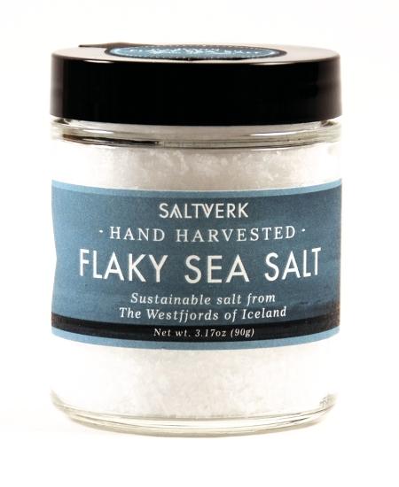 FLAKY SEA SALT grobes handverlesen Salz aus Island
