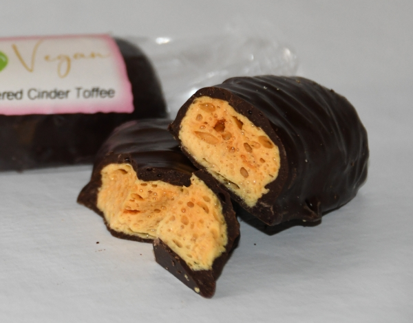 Plain Chocolate Cinder Toffee 50g