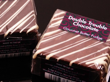 Gourmet Fudge Square Double Trouble Chocolate 85g