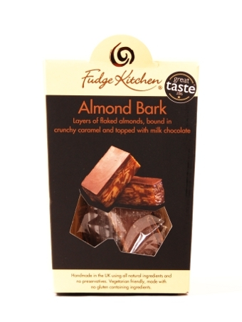 Fudge Kitchen (Zuckerfrei) Almond Bark 125g