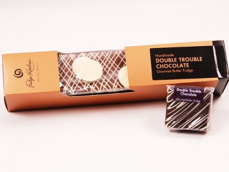 Gourmet Fudge Double Trouble Chocolate Barren 800g